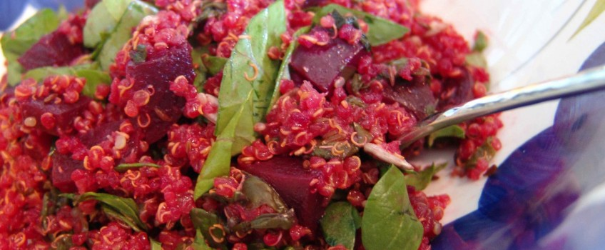 Crimson Quinoa & Greens